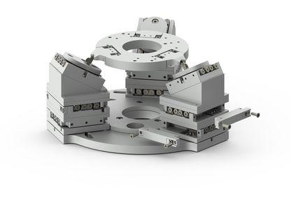 SMARPOD - A Hexapod-like Positioning System - SmarAct
